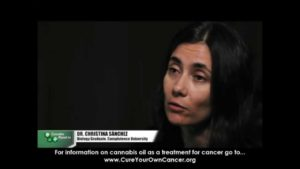 Dr.Christina Sanchez explains how cannabis kills cancer cells